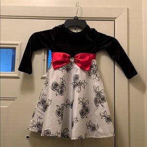 Christmas Dress Dollie & Me size 4 Pre Owned
